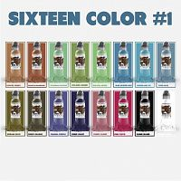 Краска для тату WF Sixteen Color Ink Set #1